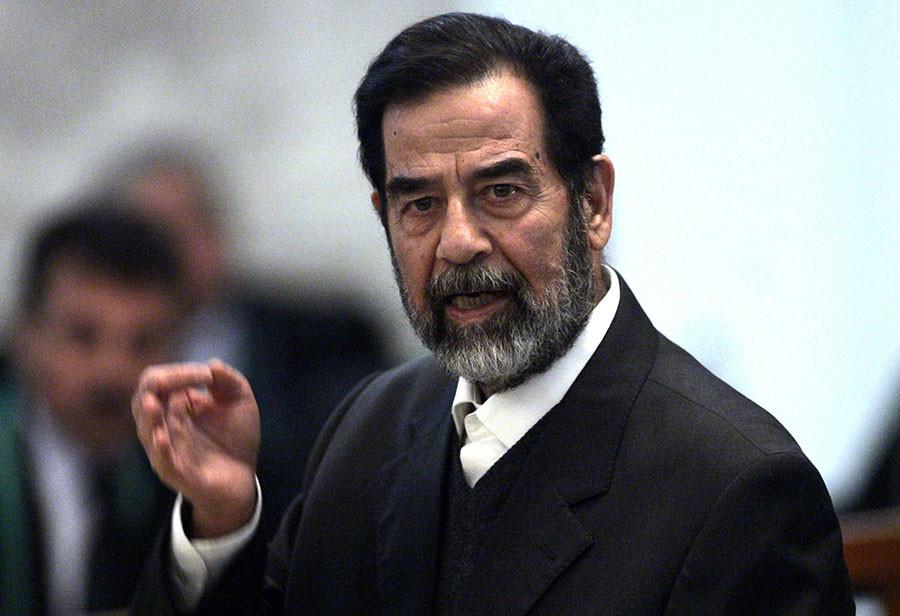 Saddam Hussein. ©Reuters