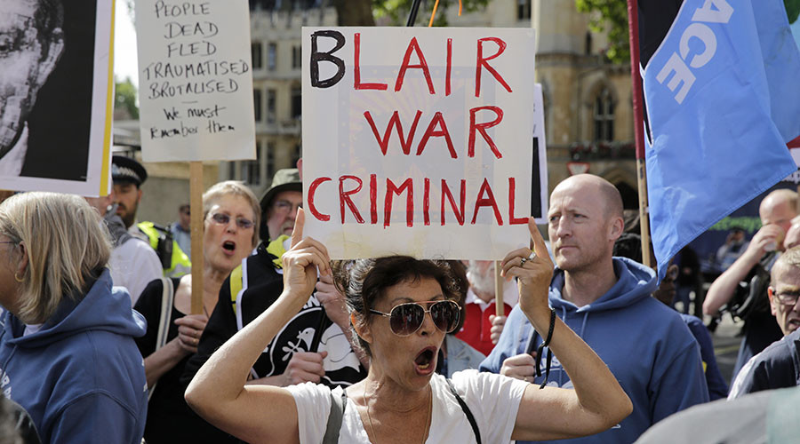 'Betrayal': Iraq veterans call for Blair's indictment after Chilcot report
