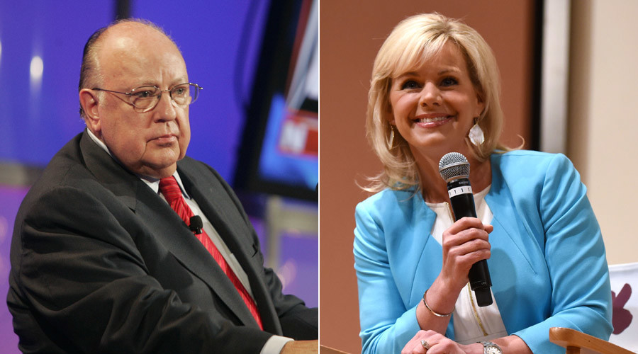 Fox News CEO Roger Ailes (right) is being sued by Gretchen Carlson (left) © Fred Prouser, Noam Galai (AFP)