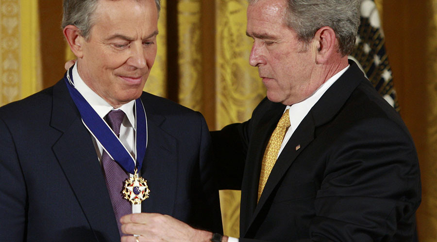 Tony Blair to George W. Bush: 'I will be with you, whatever'