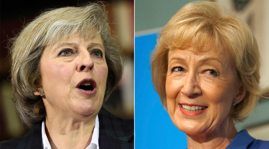 The candidates in the Conservative party leadership contest, Theresa Mayand Andrea Leadsom © Reuters
