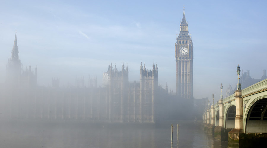 Envelope of 'white powder' triggers security alert at UK Parliament