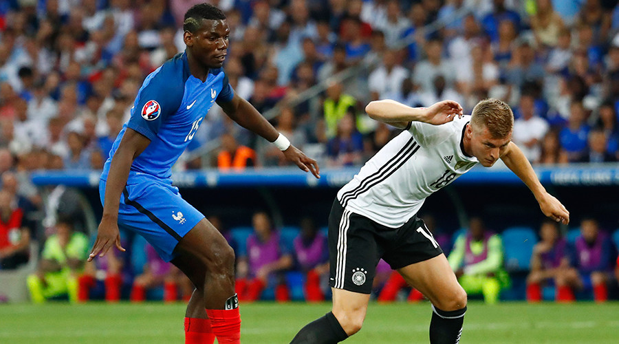 Euro 2016 semi-final: France 2-0 Germany (LIVE UPDATES)