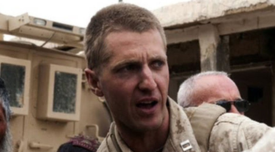 Marine Corps Reserve Maj. Jason Brezler © whatyouthoughtiwentaway.wordpress.com
