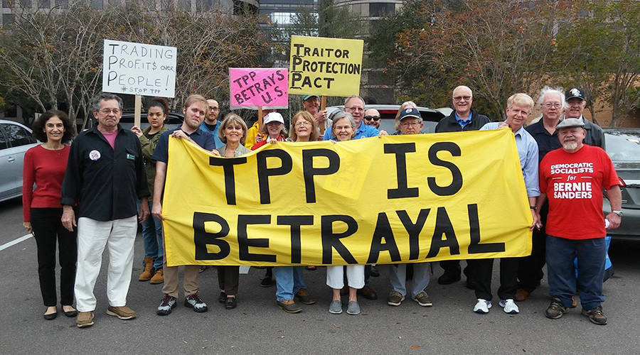 TPP becomes wedge issue for Democrats ahead of national convention