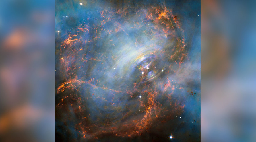 Nebula's 'beating heart' revealed in spectacular NASA image