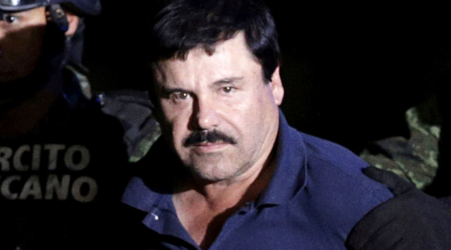 'Depressed' Mexican drug lord El Chapo complains of 'inhumane treatment' due to lack of sleep