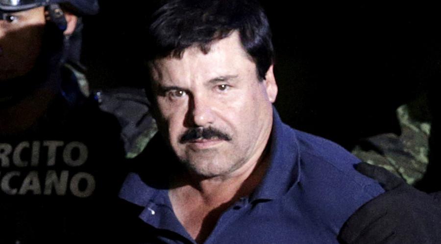 "Drug lord Joaquin ""El Chapo"" Guzman. © Henry Romero"