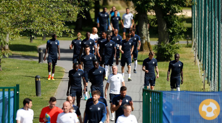 Controlled explosion at Paris hotel before French team heads to Euro finals