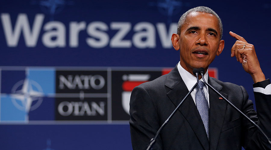 Polish public broadcaster censors Obama criticism of country's democracy
