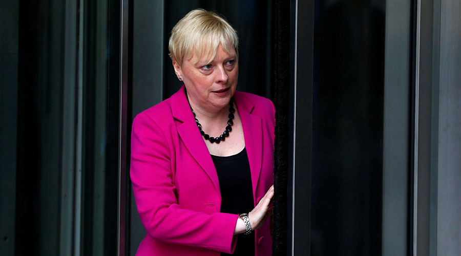 Britain's former Labour Party Business policy chief Angela Eagle. ©Neil Hall