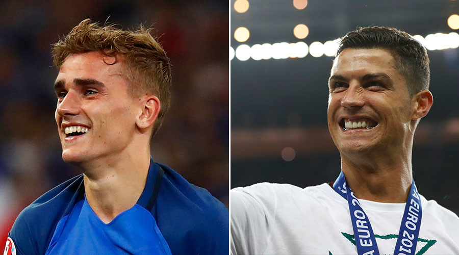 Euro 2016: Griezmann is Player of tournament; Ronaldo makes to All Star team
