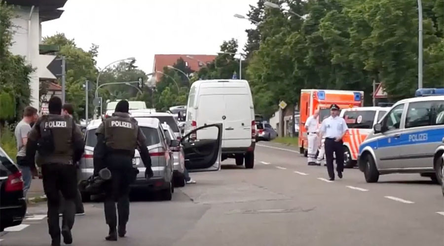Police storm Stuttgart law firm after reports of gunman, find 2 bodies inside