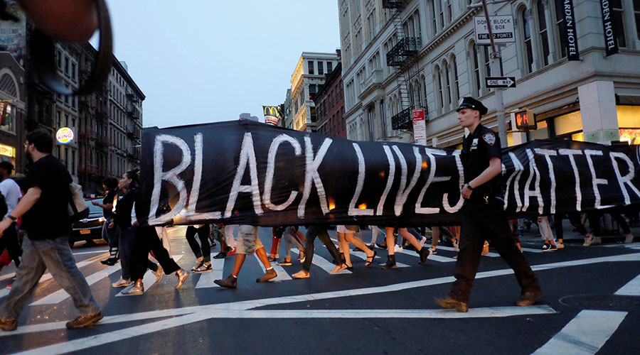 Road blocks and peace signs: Black Lives Matter protests across America