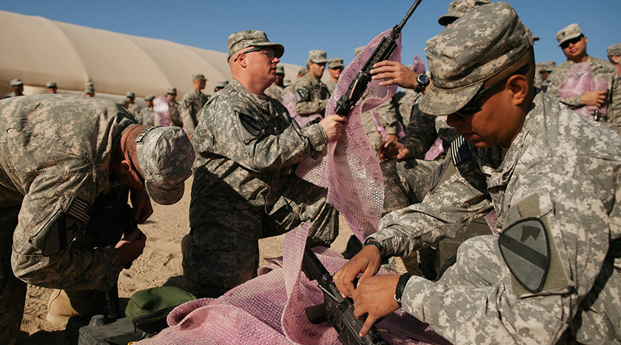 US to send 560 more troops to Iraq to retake ISIS stronghold
