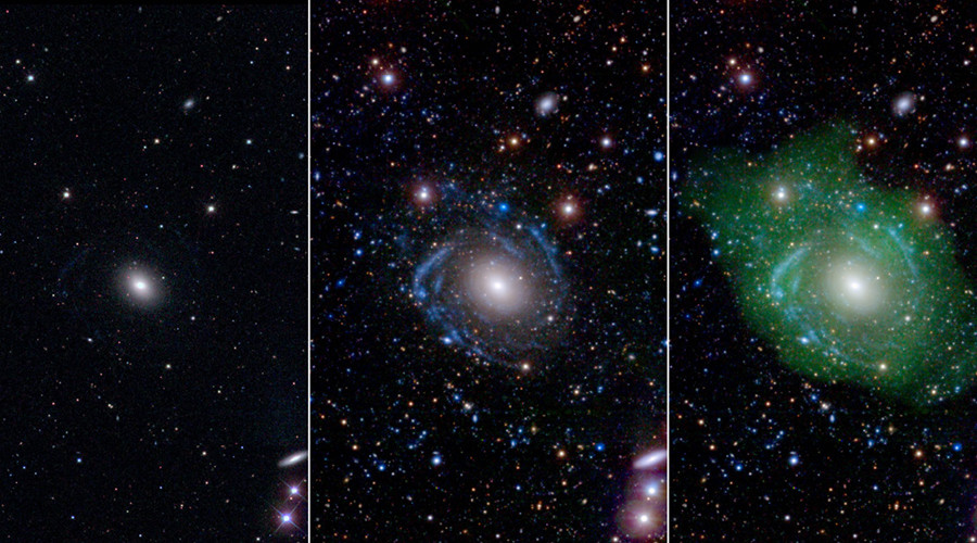 UGC 1382 galaxy captured by NASA's GALEX telescope © NASA