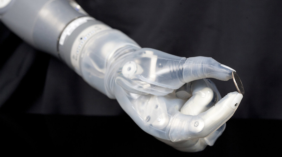 Brain-linked prosthetic arm scheduled to hit markets by year's end