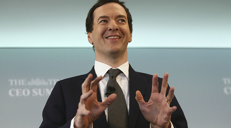 Britain's Chancellor of the Exchequer George Osborne. © Neil Hall