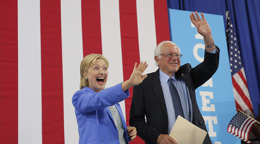 Sanders endorses Clinton: 'She is best candidate to address crises we face'