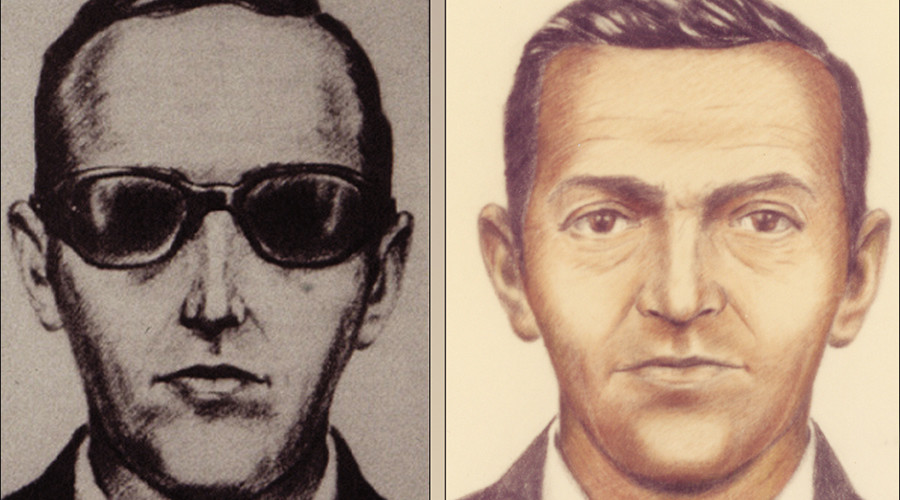 Artist sketches released by the FBI of a man calling himself D.B. Cooper © , U.S. FBI