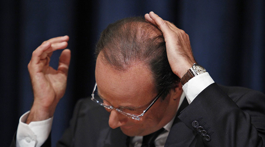 €10,000 salary of Hollande's hairdresser sends Twitter into sarcasm overload