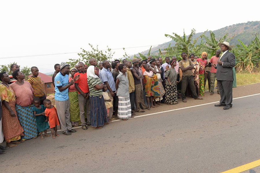 © Yoweri Kaguta Museveni