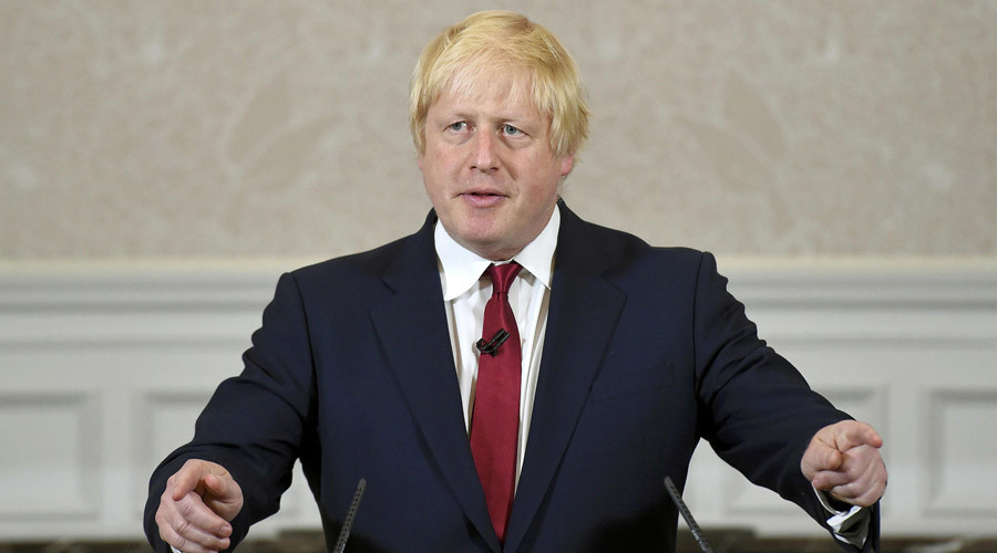 Boris Johnson appointed UK foreign secretary by new PM Theresa May