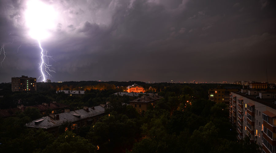 Over 30 injured as raging thunderstorms sweep across Russia (PHOTOS, VIDEOS)