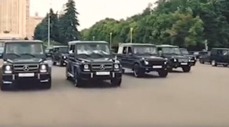 Russia's security service to punish academy graduates after scandalous luxury car parade in Moscow