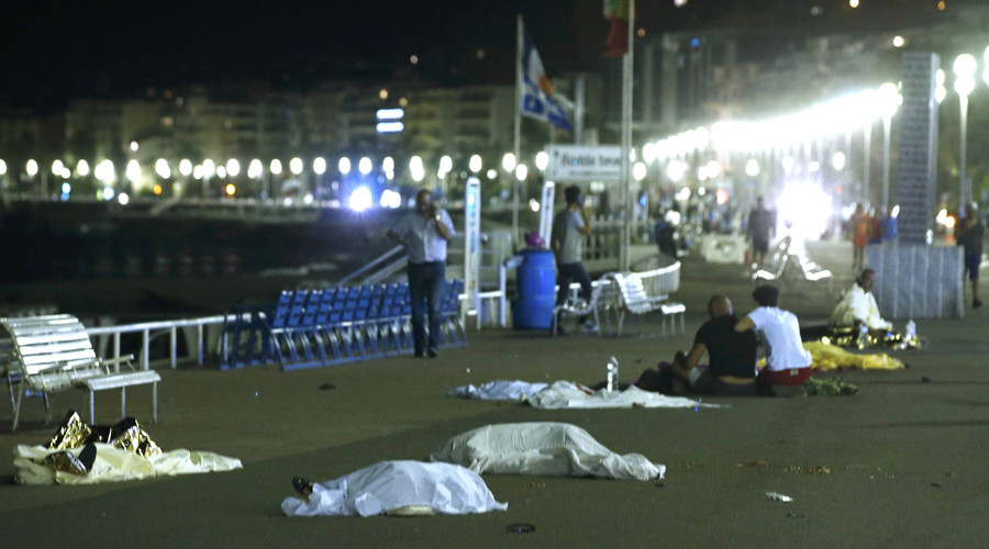 Extremely gruesome video shows aftermath of Nice's Bastille Day attack (GRAPHIC CONTENT)