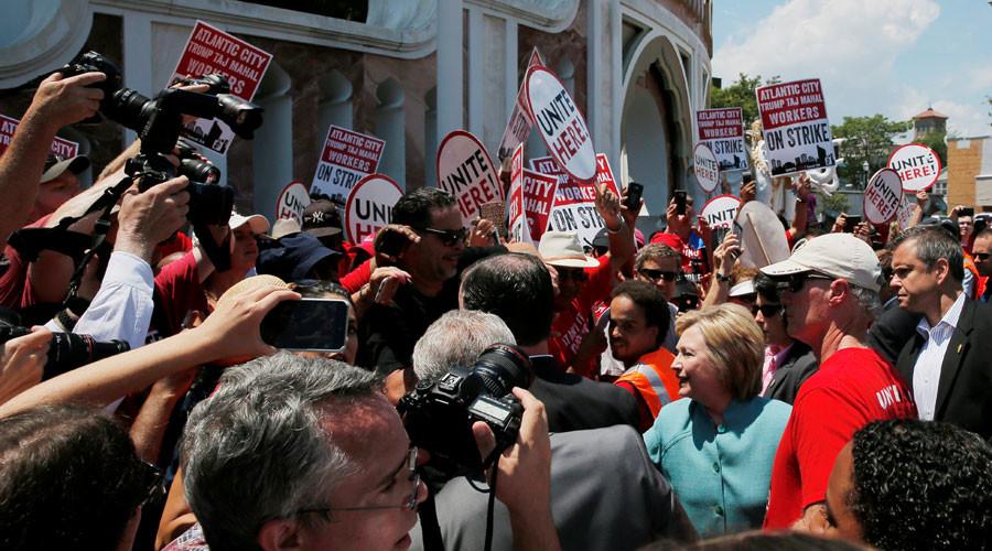 U.S. Democratic presidential candidate Hillary Clinton © Brian Snyder