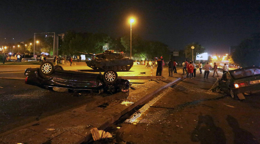 Ankara chaos: All-out war with helicopters, fighter jets, tanks, casualties reported