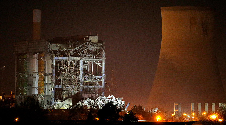 Search for Didcot missing dead to continue after power station demolition