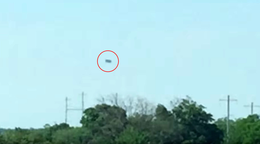 POLL: Huge UFO over NY baffles witnesses, what do you think it is? (VIDEO)