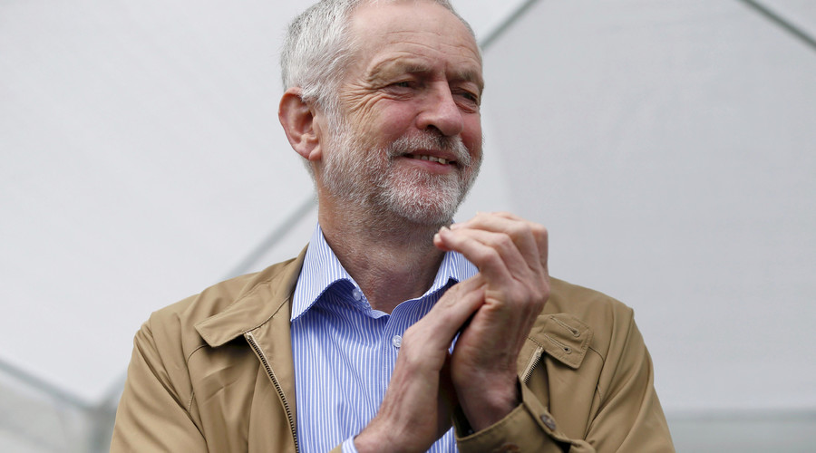 Britain's opposition Labour Party leader Jeremy Corbyn. © Neil Hall