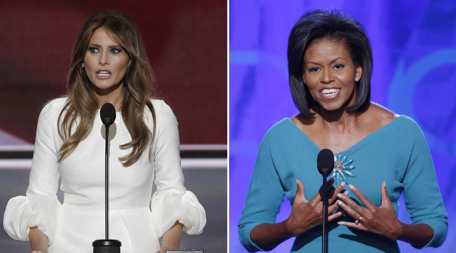 Proof: Melania Trump definitely did not copy Michelle Obama (VIDEO)