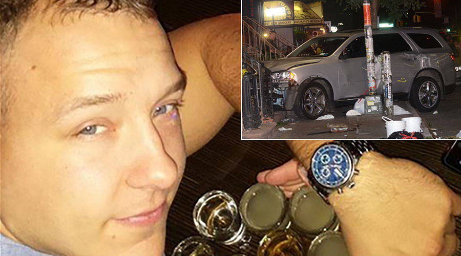 NYPD cop who killed MIT student in drunk crash fired, drinking buddies suspended