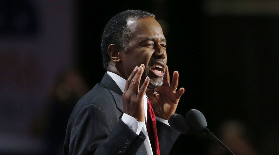 Former Republican Presidential Candidate Dr. Ben Carson. © Mario Anzuoni