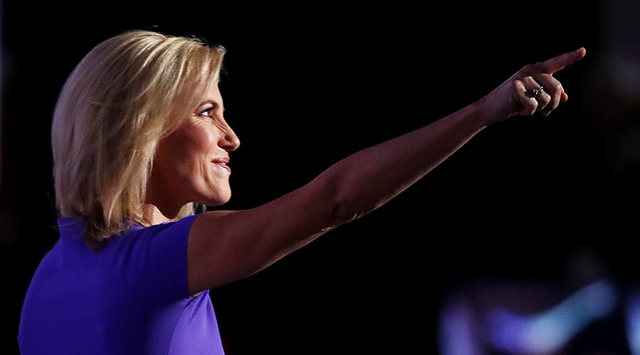 Twitter abuzz over Laura Ingraham's 'Nazi salute'