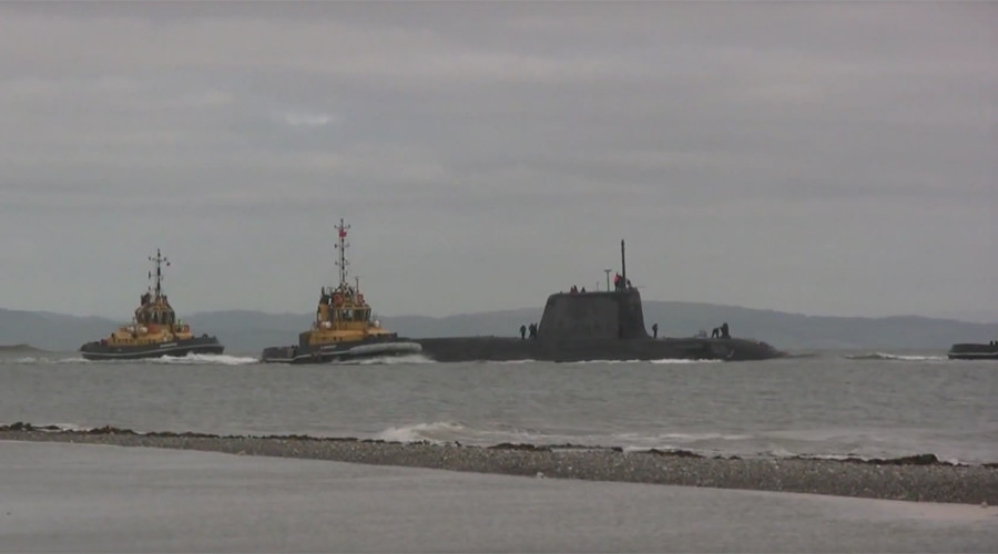 UK nuclear sub collides with merchant vessel off Gibraltar