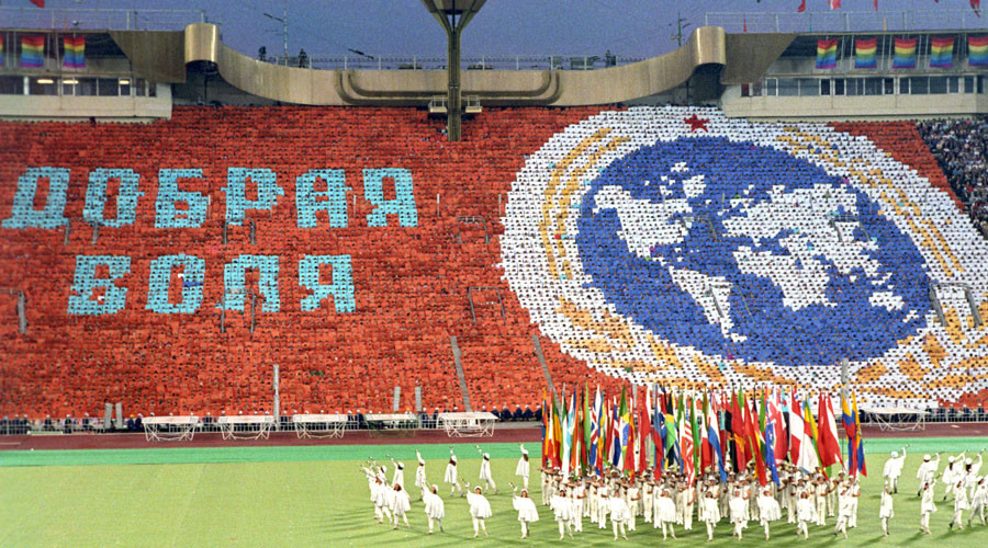 Lawmaker proposes Russia launch Goodwill Games in reply to Olympic ban