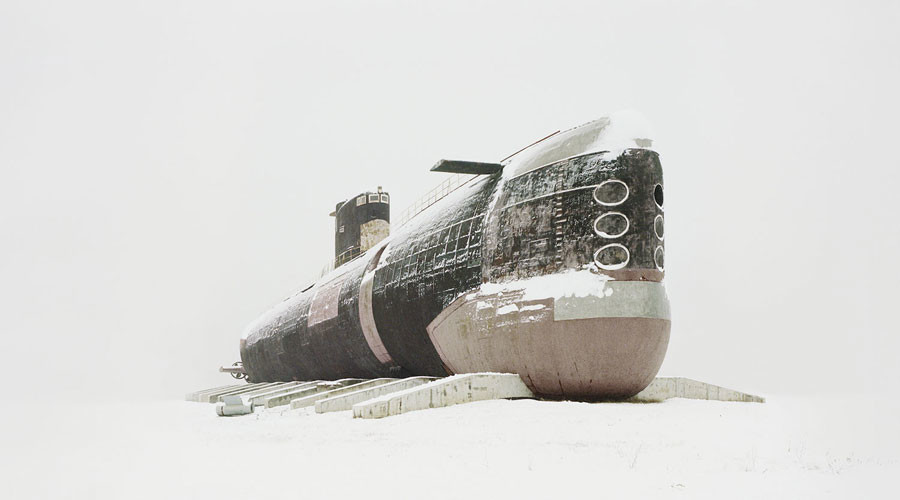 Snow Ghosts: Photographer captures skeletons of abandoned Soviet-era structures