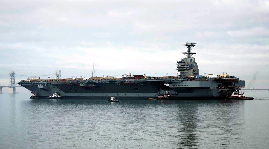 The U.S. Navy aircraft carrier USS Gerald R. Ford (CVN-78) © Aidan P. Campbell / U.S. Navy