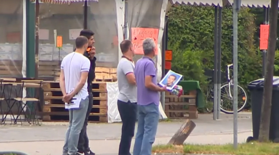 'In a nightmare': Grief-stricken father mourns loss of his son at Munich shooting site (VIDEO)