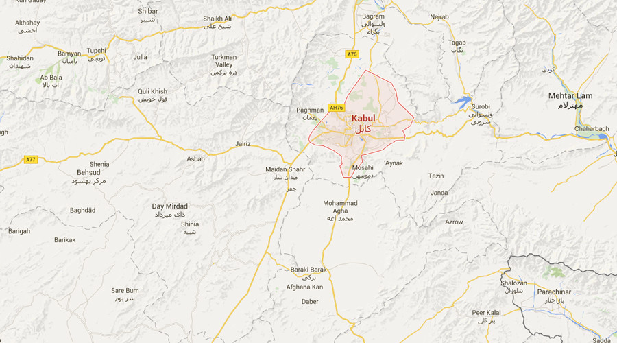 Rocket hits school near US embassy in Kabul, day after ISIS attack kills 80