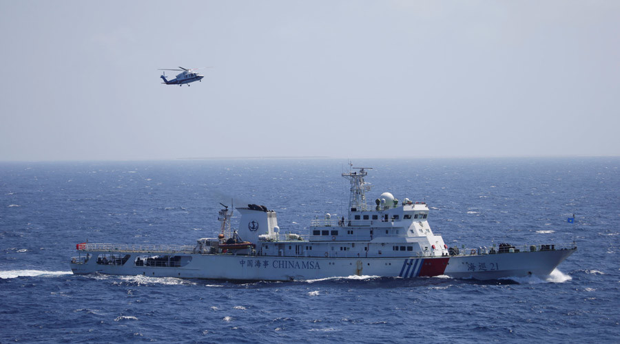 Butt out of South Sea dispute, China tells 'shameful' Japan