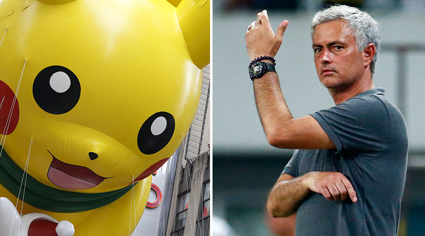 No Pokemon Go before matches:  Man Utd coach Mourinho imposes ban on app