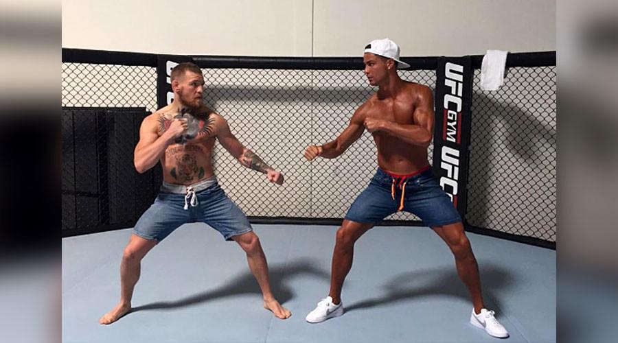 'He's an animal': McGregor faces Ronaldo in UFC Octagon