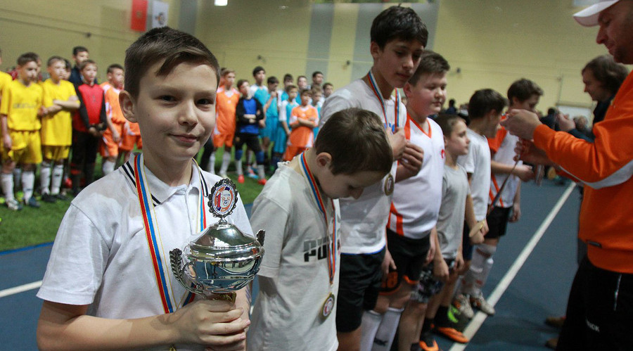 Russian orphans' football team claims 2nd world title