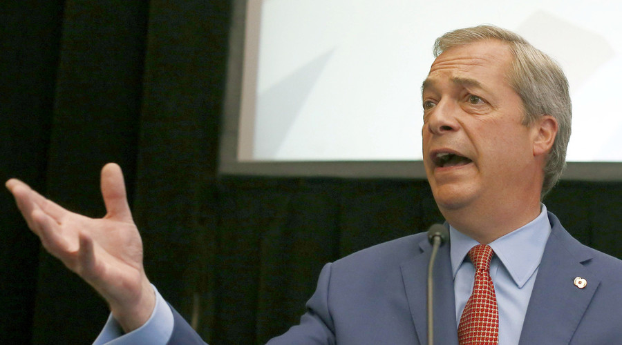 Nigel Farage, the leader of the United Kingdom Independence Party (UKIP). © Neil Hall